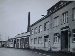 Die Betriebsgebäude der ehemaligen Firma Carl Sieper an der Geerstraße: Auf einem Teil des Geländes befindet sich seit 2005 unser Bauplatz.